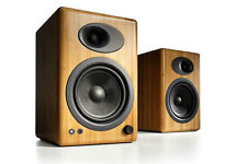 Audioengine A5+ Bamboo (Pair) Premium Powered Speakers - Free Shipping - NEW