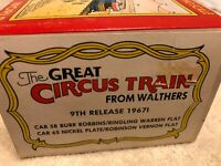 Walthers Ho scale Circus Cars.1967I