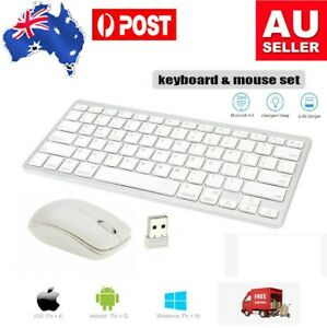 2.4GHz Wireless Keyboard and Mouse Combo USB for Computer Desktop and Laptop PC