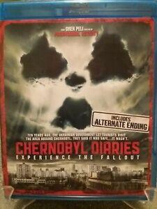 Chernobyl Diaries Blu Ray & DVD Combo 2012 Region A Horror Incl Alternate Ending