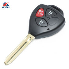 Remote Key 3 Button 433MHz for Toyota 2005-2008 Hilux With 4D67 Chip(MDL B42TA)