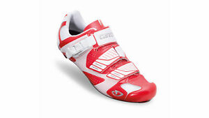 Giro Bike Shoes Factor Red Lightweight Stable Optimized Power Transmission