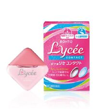 Rohto Lycée Eye Drops 8ml (For Contact Lens) Made in Japan New Eyedrops Lycee