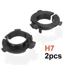 2pcs H7 LED Bulb Holder Adapter For Hyundai Veloster SANTA Genesis Coupe K4/5