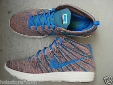 Nike Air Lunar Flyknit Chukka 44.5 Brave Blue/Photo Blue/Mineral Teal/Green Glow