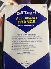 Self Taught All About France Vintage 1961 Paperback