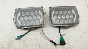 1986-1989 Honda Accord LED Headlight Bulb PAIR High/Low Beam