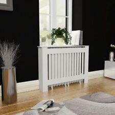 vidaXL Radiator Cover Heating Cabinet White MDF Cupboard Shelf Multi Sizes
