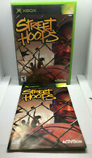 Street Hoops - Case and Manual ONLY - NO GAME DISC - Original Xbox