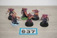 Warhammer 40k Aeldari Dark Eldar Grotesques x 6 - Metal LOT 937