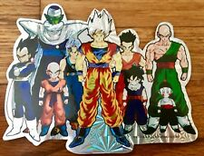 Dragon Ball DBZ 🐉 RAREST Sticker MADE Holo Foil UR VTG OOP LICENSE *AUTHENTIC*