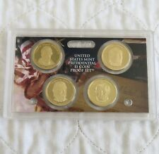 USA 2009 PRESIDENTIAL DOLLARS 4 COIN PROOF SET - sealed