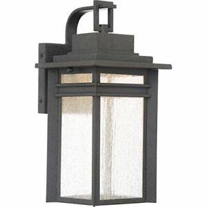 Quoizel BEC8408SBK Beacon Outdoor Lantern in SBK - Stone Black