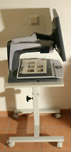 "Optelec ClearView+ Plus Ultra Flex Arm Low Vision Magnifier 19"" + table"