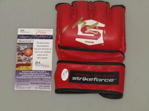 NICK DIAZ Hand Signed  4oz Glove  + JSA  COA  UFC    DIAZ v LAWLER