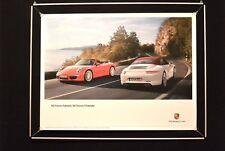 """Porsche Poster """"911 Carrera Cabriolet, Carrera S Cabriolet"""""""