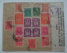 Ganzsache Brief von München nach Wien mit Marken deutsches Reich