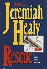 RESCUE by Jeremiah Healy ~ 1995 HC DJ BCE