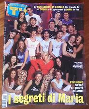 TV SORRISI E CANZONI 2003 n°12 Amici di Maria De Filippi