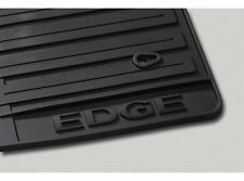 2011-2014 Ford Edge Black All Weather Floor Mat Set - 3-pc Deep treads for dirt
