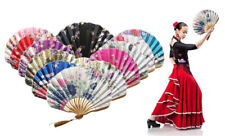 Chinese Style Hand Held Fan Bamboo Paper Folding Fan Party Wedding Decor Gift