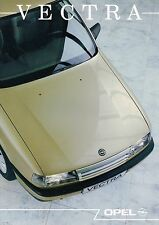 1989 Opel VECTRA Brochure / Prospekt / Catalog: GL,GLS,CD,GT,4x4,2.0
