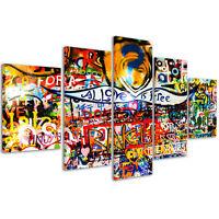 Stampe su Tela 200 x 90 cm Quadri Moderni XXL Quadro Astratto Moderno Casa #072