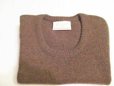 JANTZEN Vintage 70's Mens Scotch Tumbler Sweater Vest Medium Brown Tweed Grandpa
