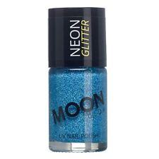 Moon Glow Neon UV Glitter Nail Varnish Polish - Choose your colour - 14ml