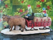 Dept 56 Heritage Village Collection Accessory Ox Sled 59510