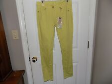 Red Camel NEW Skinny Super Stretch Denim Jeans Ava Fit Low Rise Green Size 5