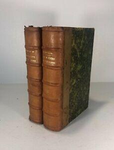 Ad.VAN BEVER-ANTHOLOGIE DES POÈTES DU TERROIR-Relié-1924-LITTERATURE-TOMES 1+ 2