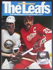 1981 Maple Leaf Gardens 50th Anniversary NHL Program Toronto - Detroit Red Wing