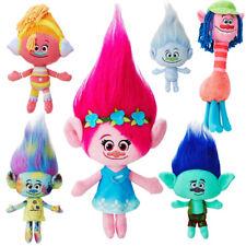 Trolls Movie Figure Poppy Harper Branch Soft Plush Hug 'N Plush Doll Toys Kids