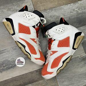 Nike Air Jordan 6 Retro Gatorade Like Mike White 384664-145 Size 9.5