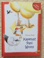 Kapelusz Pani Wrony - Danuta Parlak Polska Ksiazka, Polish Book