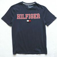 Tommy Hilfiger Men's Short Sleeve Graphic T-Shirt, Navy Blue
