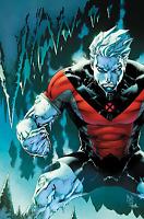 HULK #5 SIQUERA RESURRXION VARIANT  X-MEN MARVEL ICE-MAN HOT