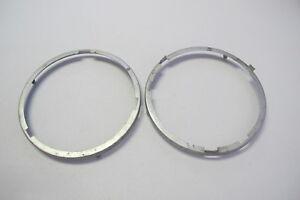 Used Porsche 356 Headlight Retainer Pair (#1)