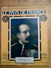 LE PAYS DE FRANCE - N°140  - 21 juin 1917 - SIR STANLEY MAUDE