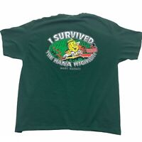 Hasegawa General Store Maui Hawaii 'I Survived Hana Highway' Double Sided XL