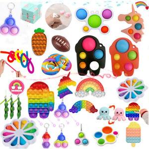 14× Fidget Toys Sensorisches Autismus Angst Stressabbau Spielzeug Set Kid ADHS