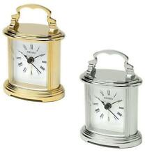 Antique Style Desk, Mantel & Carriage Clocks