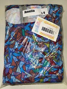 LuLaRoe Amelia Dress Size Large 9
