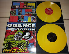 2 LP ORANGE GOBLIN - COUP DE GRACE - YELLOW - ETCHED - NUOVO NEW