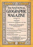 1934 National Geographic October - Haiti; Ducks, Geese, Swans; Ballooning