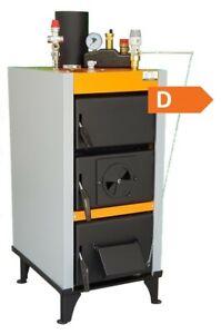 Festbrennstoffkessel 3,9 kW Kessel ohne Messpflicht mit Zubehör