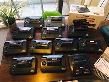 12 Sega Master System II Consoles | 1 MegaDrive II | 100+ Games | 32 Controllers