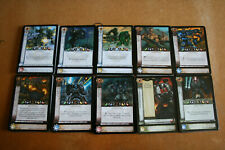 Warhammer 40k Horus Heresy CCG Dropsite Massacre Uncommon cards - 5 cards / lot