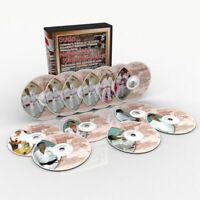 Tecniche e metodi del Judo dei migliori esperti giapponesi.12 DVD -706 min.
